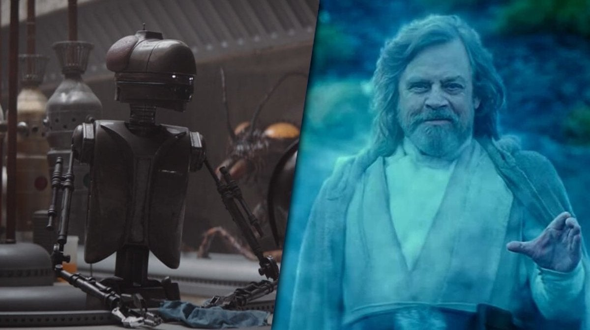 star wars the mandalorian mark hamill cameo easter egg