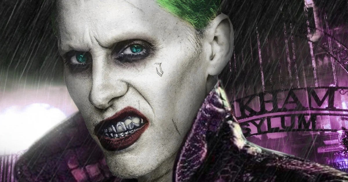 Suicide Squad Jared Leto Joker DC Comics Influneces David Ayer