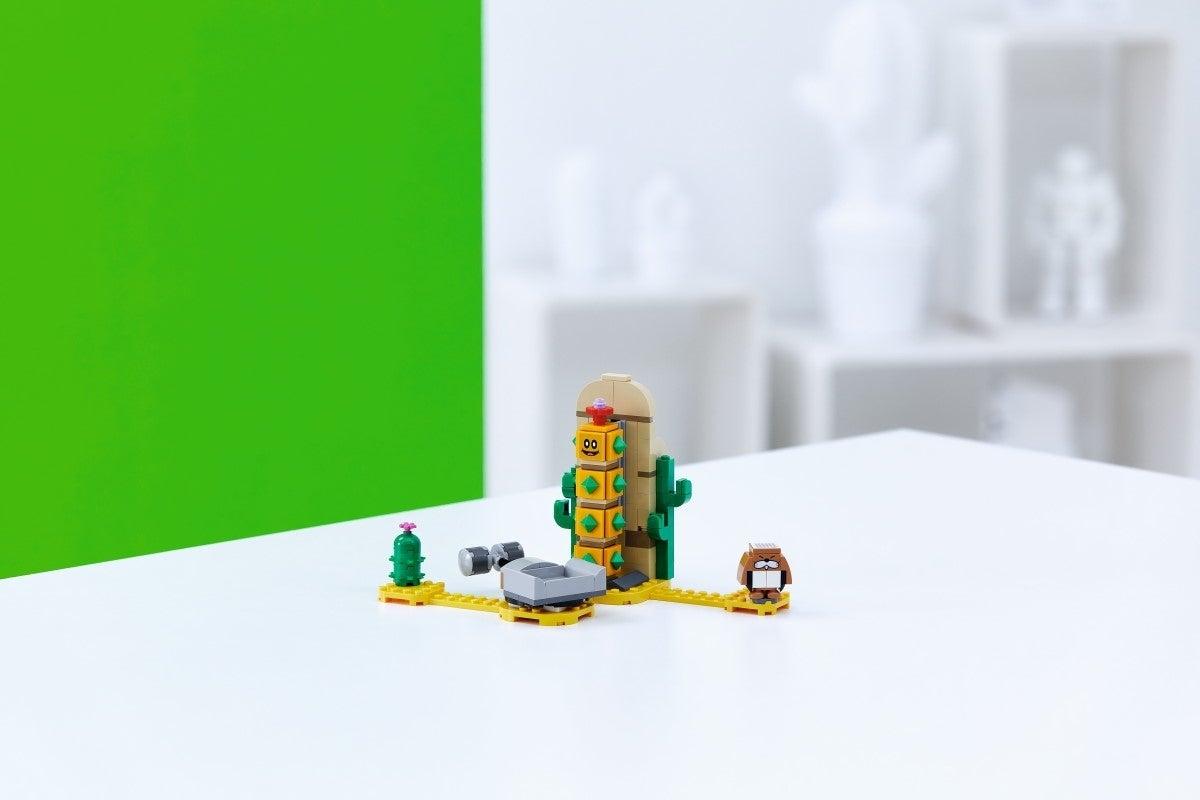 super mario lego Desert Pokey Expansion Set 1