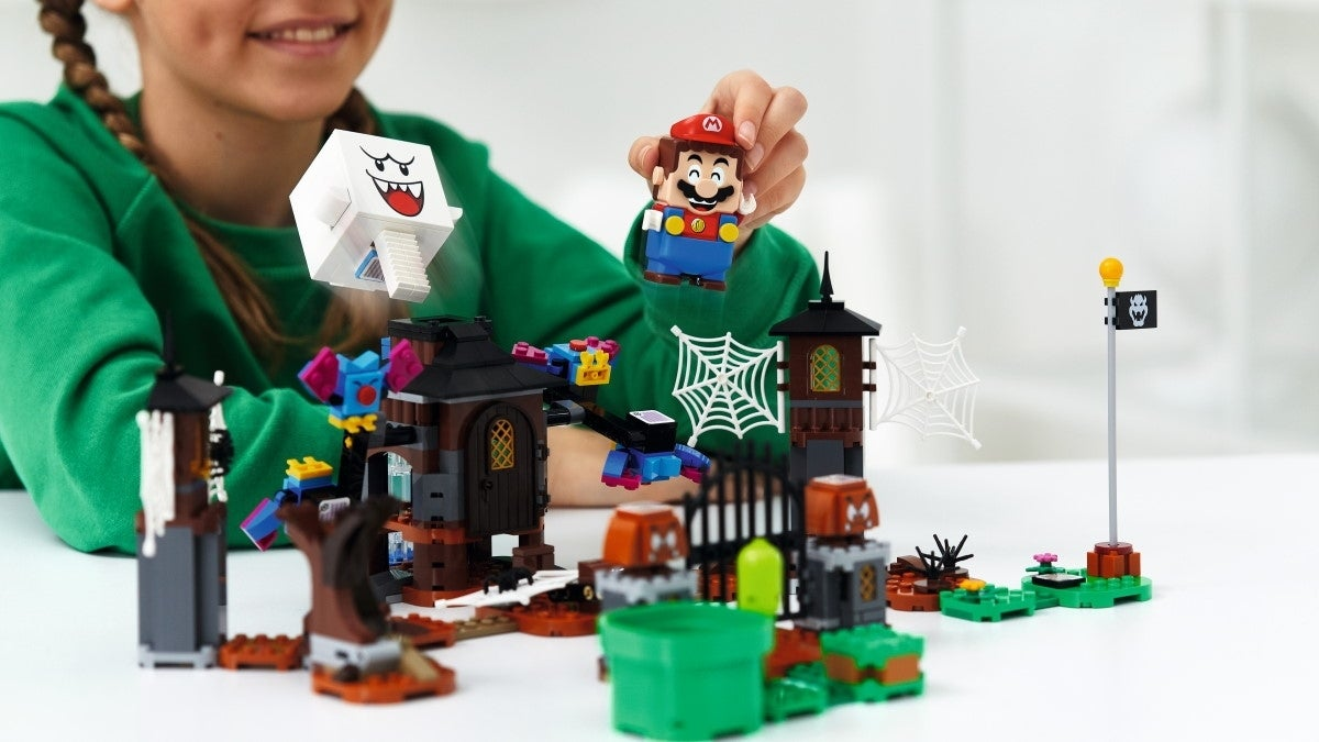 super mario lego King Boo and the Haunted Yard Expansion Set new cropped hed