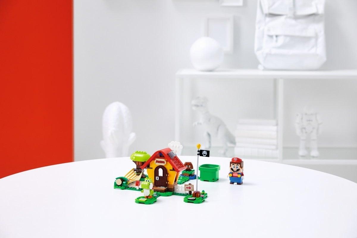 super mario lego Mario's House and Yoshi Expansion Set 2