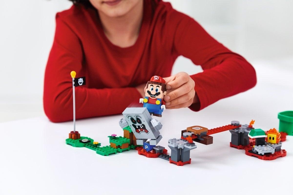 super mario lego Whomp's Lava Trouble Expansion Set 1