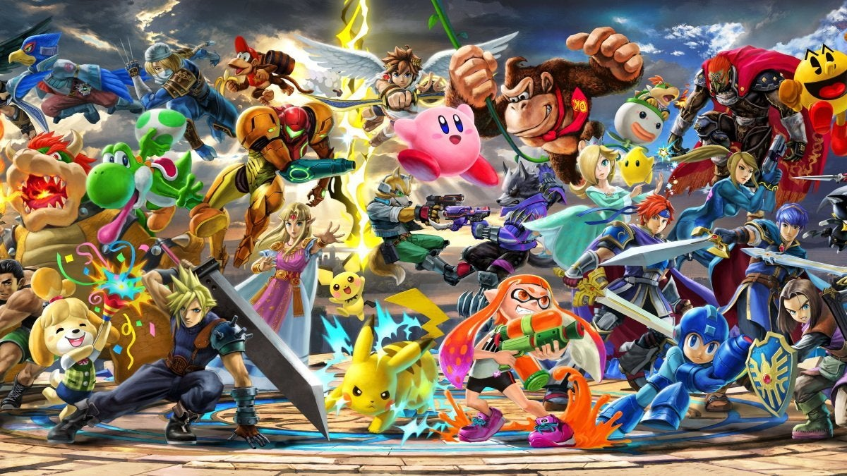 super smash bros ultimate art new cropped hed