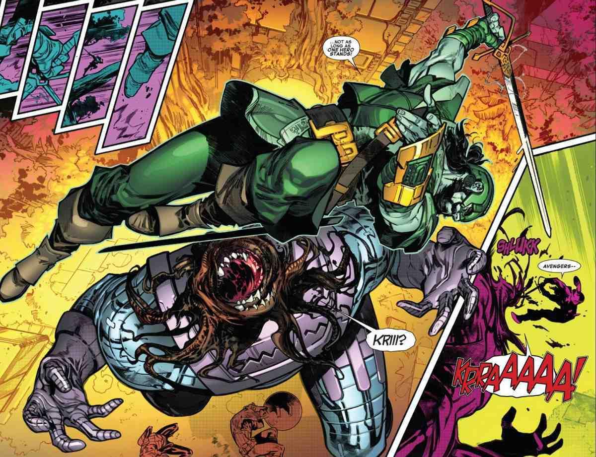 Swordsman Marvel Avengers Empyre