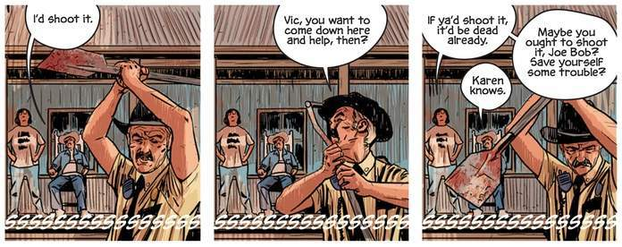 That Texas Blood #1 Review - Small Town Life