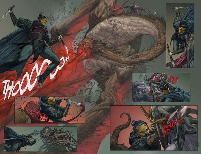 DC's Phillip Kennedy Johnson Talks Building a Deep and Epic Fantasy  Adventure in The Last God