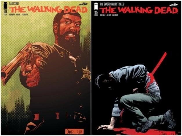 The Walking Dead 194 195