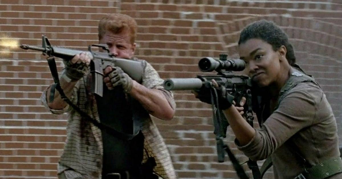 The Walking Dead Abraham Sasha