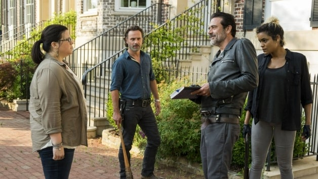 The Walking Dead Ann Mahoney Jeffrey Dean Morgan