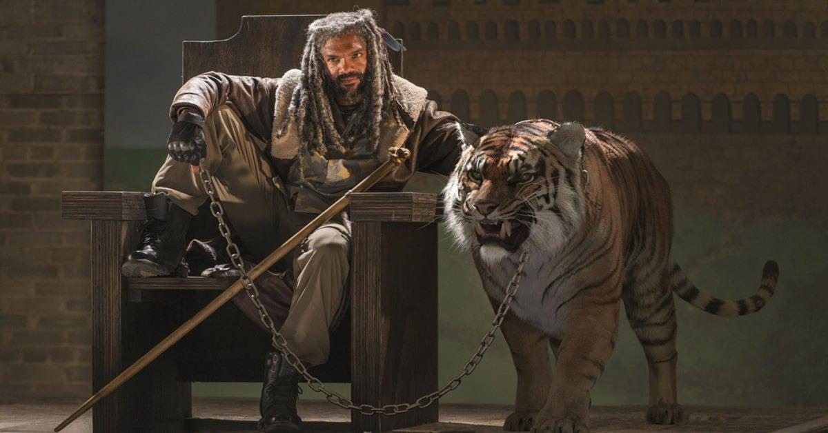 The Walking Dead King Ezekiel tiger Shiva Khary Payton
