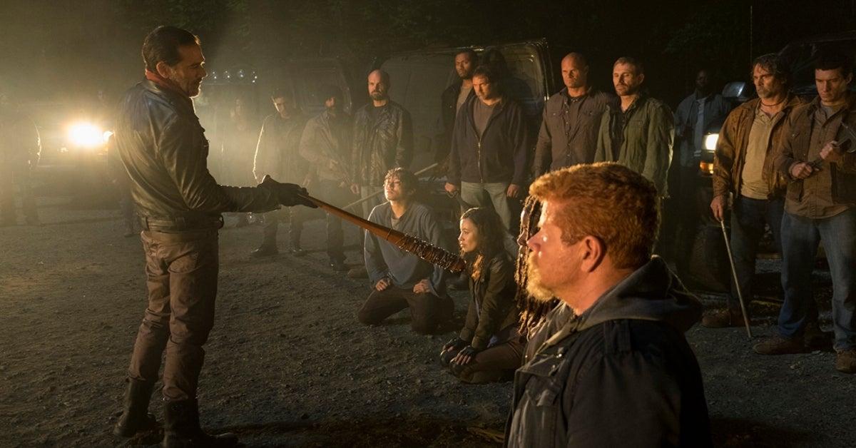 The Walking Dead Michael Cudlitz Jeffrey Dean Morgan Abraham Negan