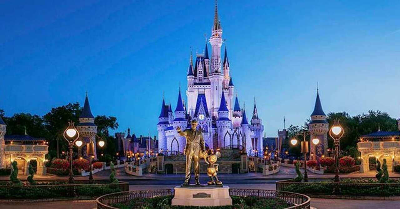 Walt-Disney World Opening COVID-19 Employee Test Center