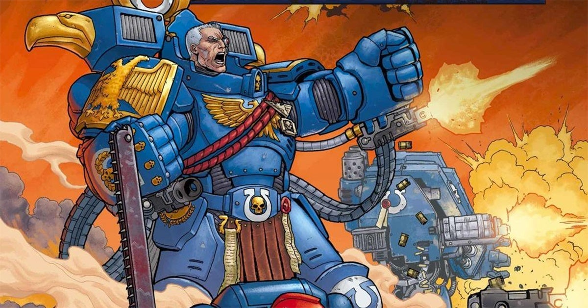warhammer 40k comic