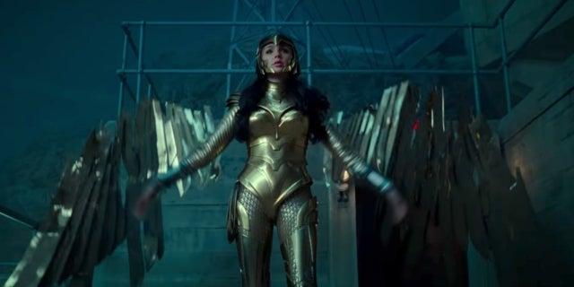 wonder woman 1984 golden eagle