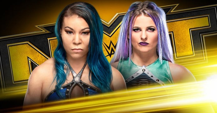 WWE-NXT-Candice-LeRae-Vs-Mia-Yim