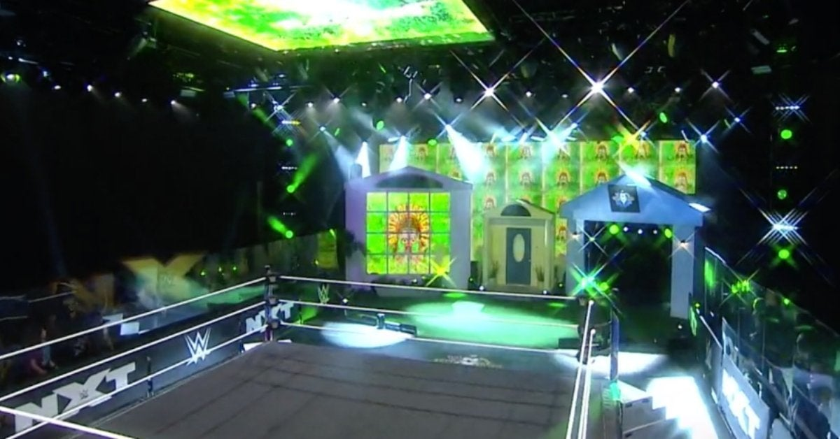WWE NXT TakeOver In Your House Set