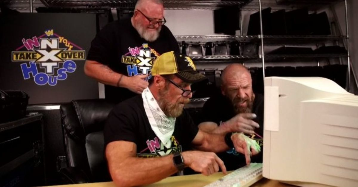WWE NXt TakeOver In Your House Shawn Michaels AOL Chat