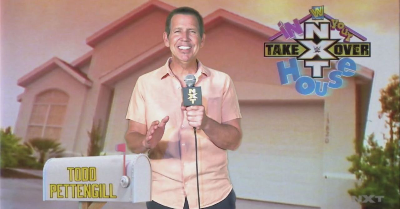 Former WWE Interviewer Todd Pettengill Returns to Promote NXT TakeOver: In Your House