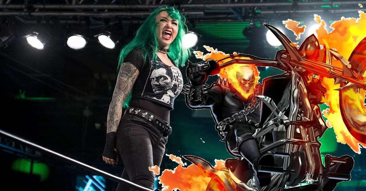 WWE Shotzi Blackheart Ghost RIder
