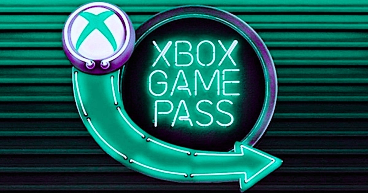 xbox game pass green-blue