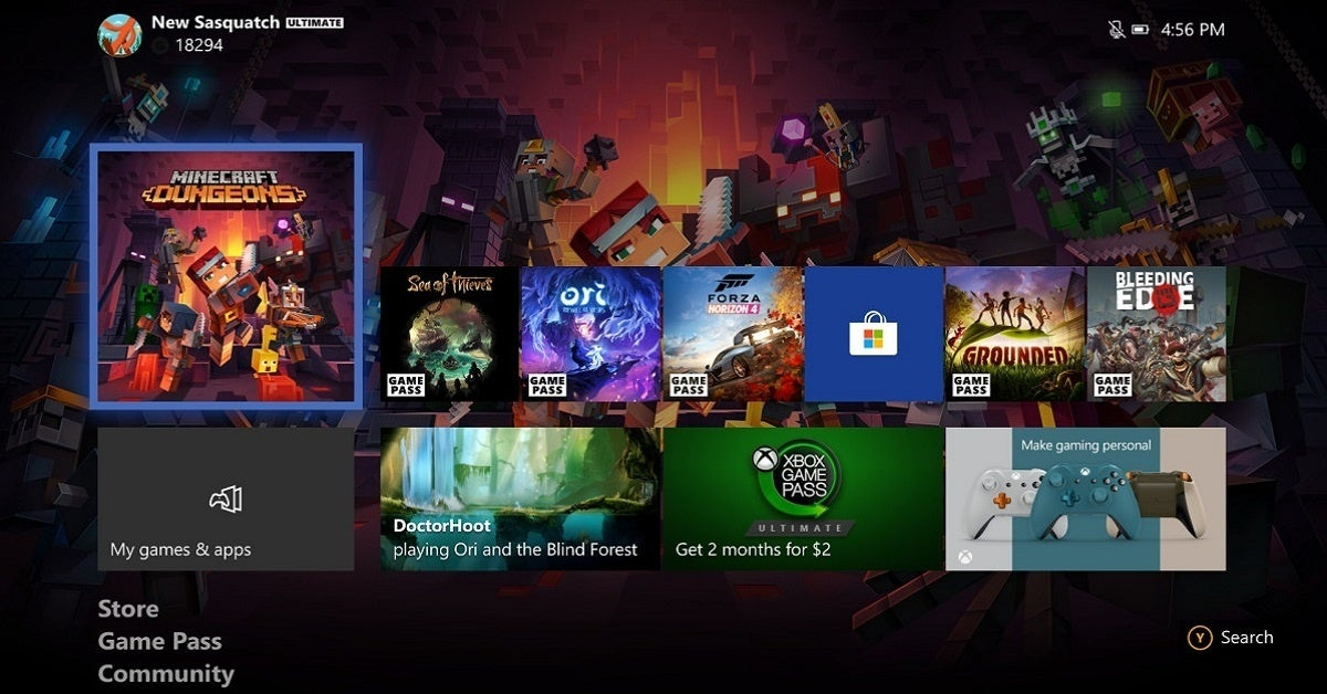 Xbox Update Library