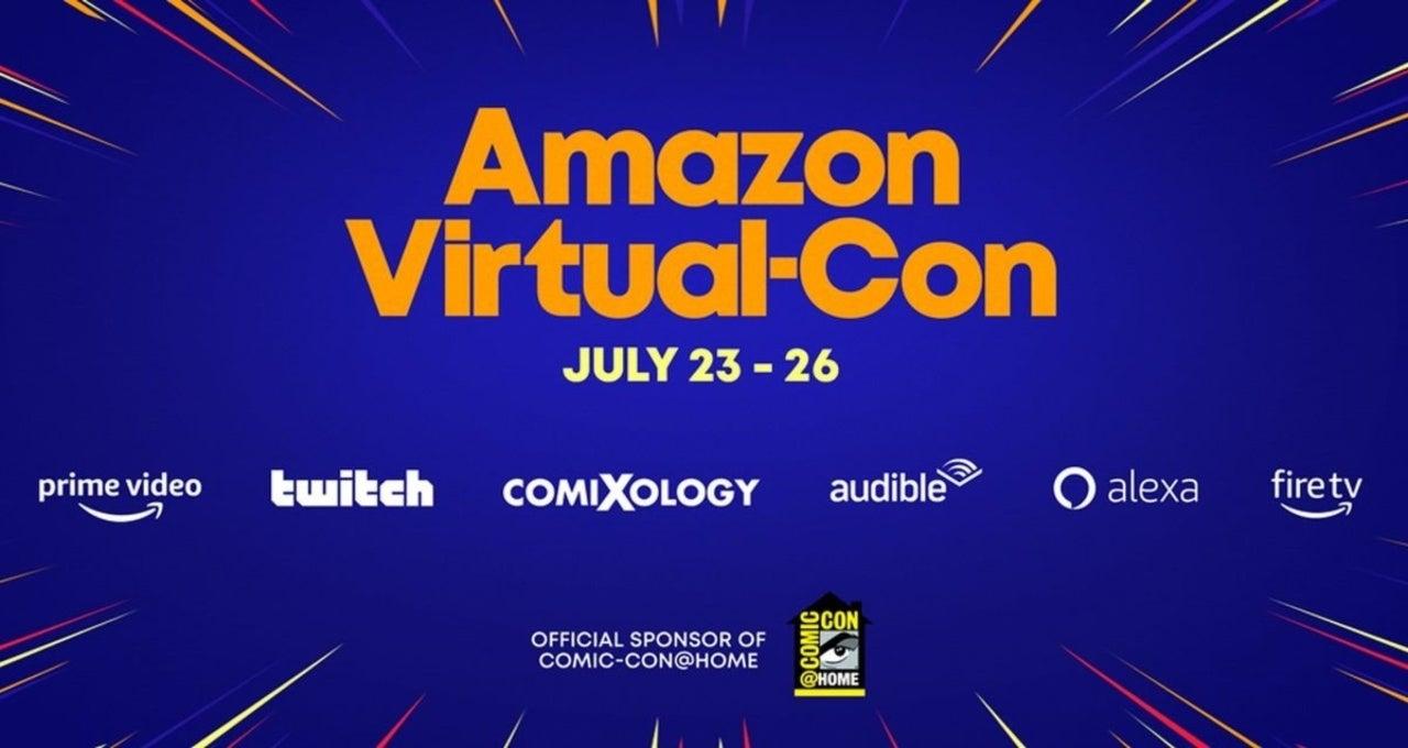 Amazon Announces ComicCon@Home Panels