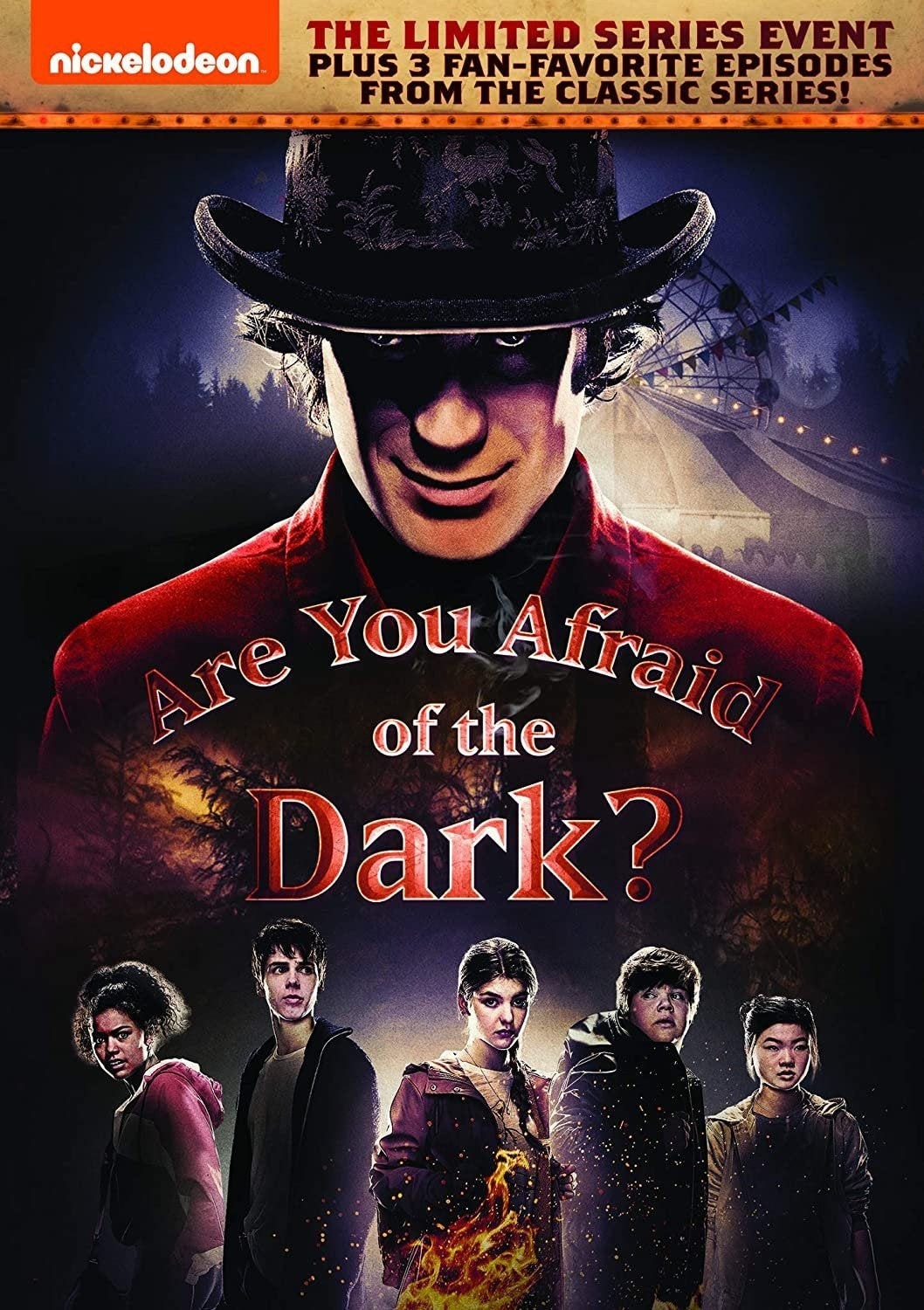 are you afraid of the dark reboot dvd cover