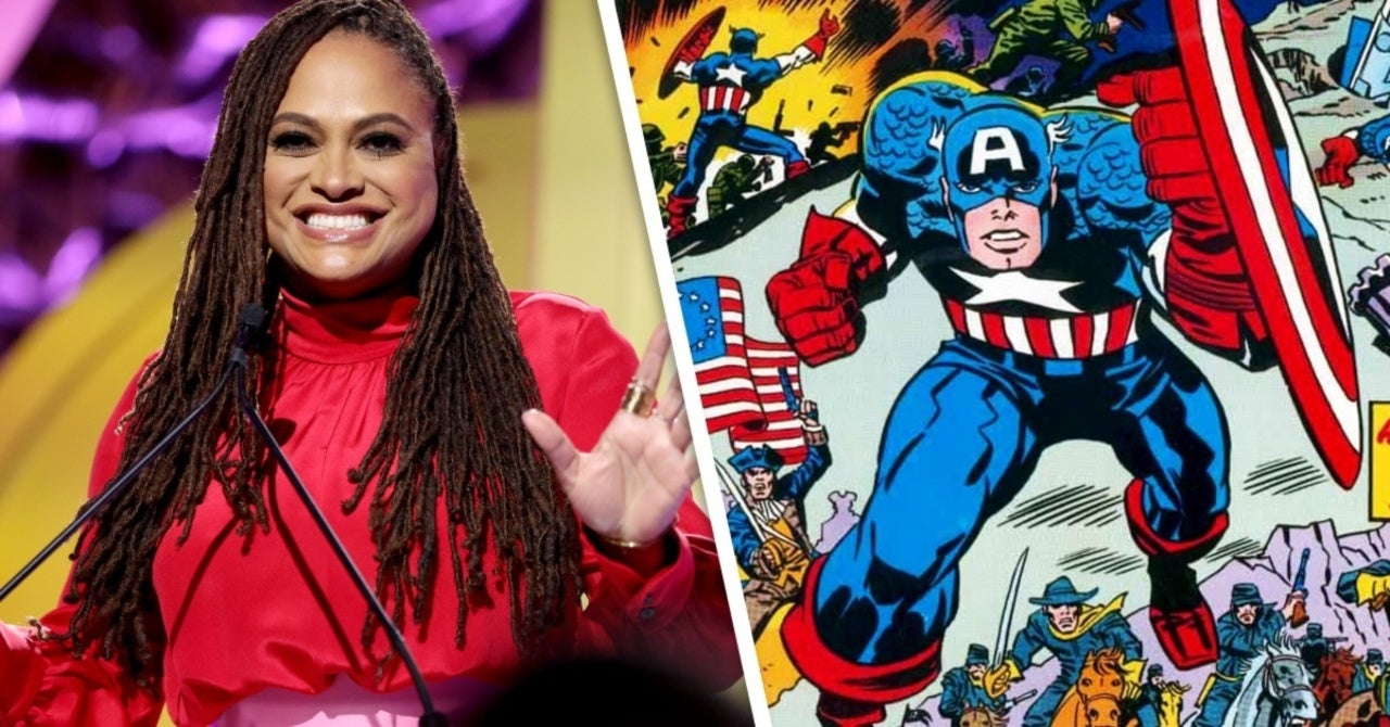 New Gods Director Ava DuVernay Celebrates Jack Kirby's Captain America for July 4th