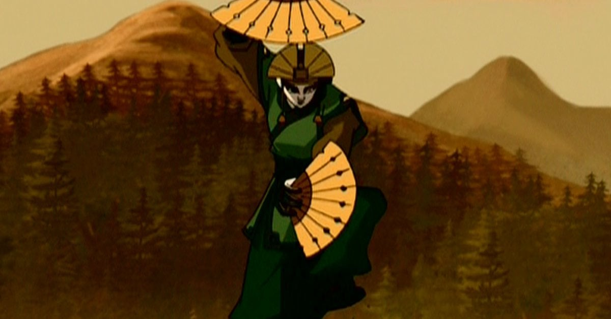 avatar kyoshi airbender