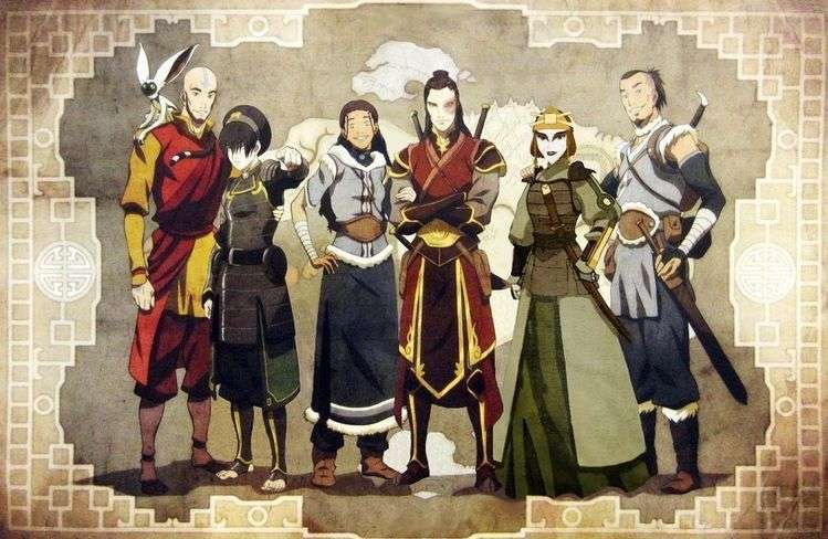 Avatar Old Characters