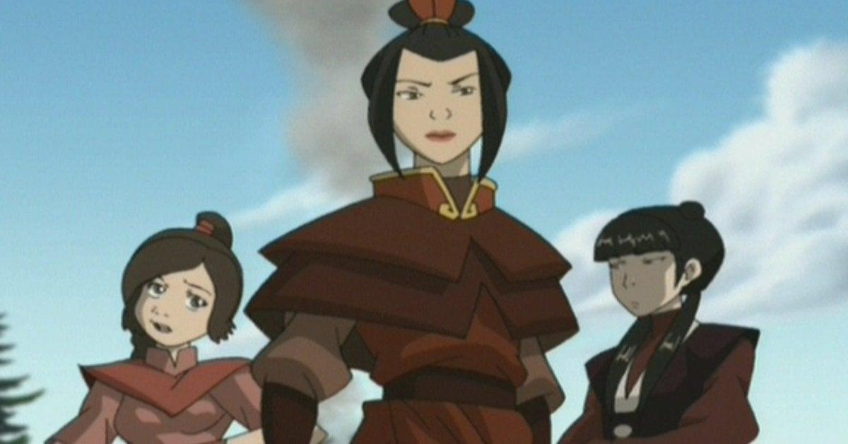 Avatar The Last Airbender Azula Team