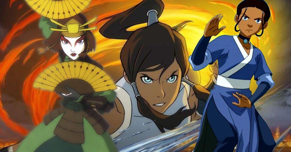 Avatar The Last Airbender Katara Suki Korra