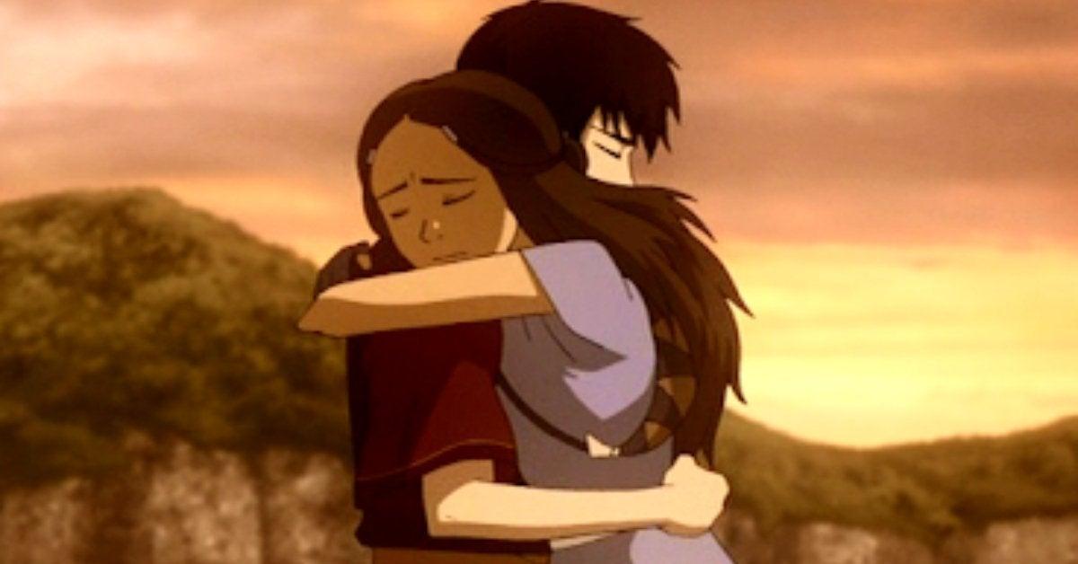 Avatar The Last Airbender Zuko Katara Romance Zutara