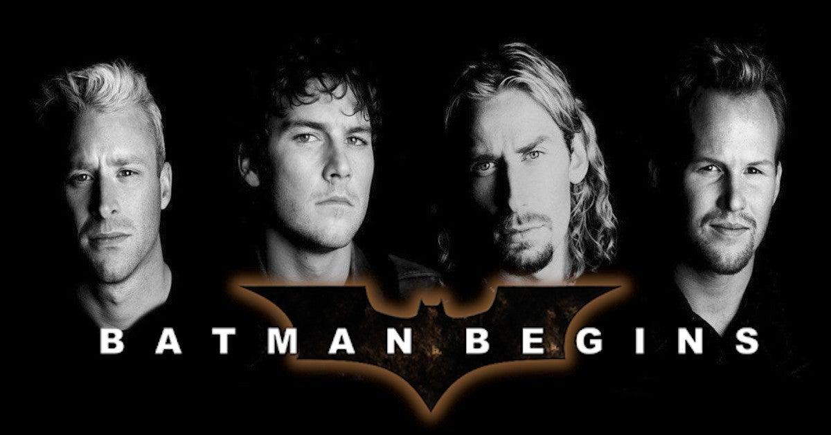 Batman Begins TV Spot Nickelback Song Goes Viral