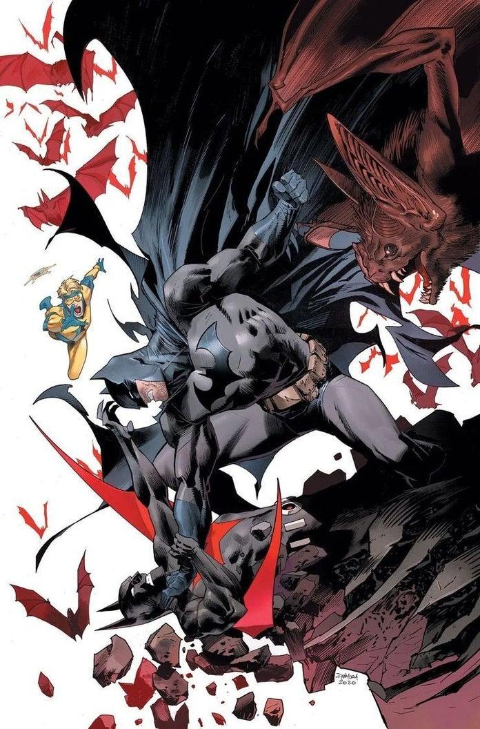 Batman Will Finally Fight Batman Beyond Thanks to Booster Gold