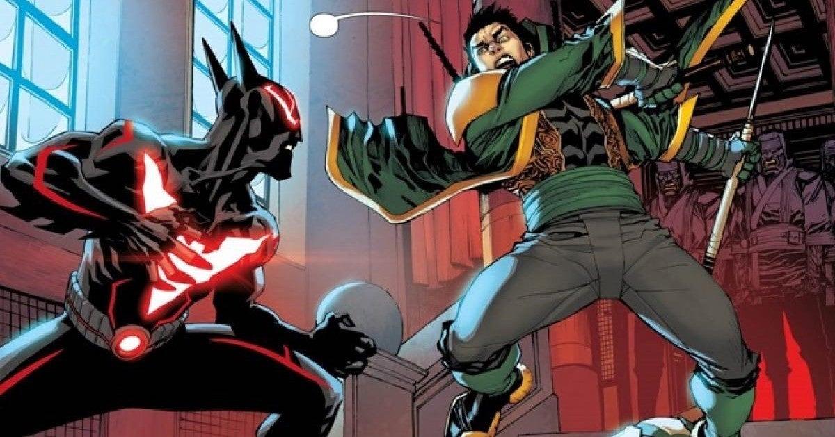 Batman Beyond Terry McGinnis vs Damian Wayne