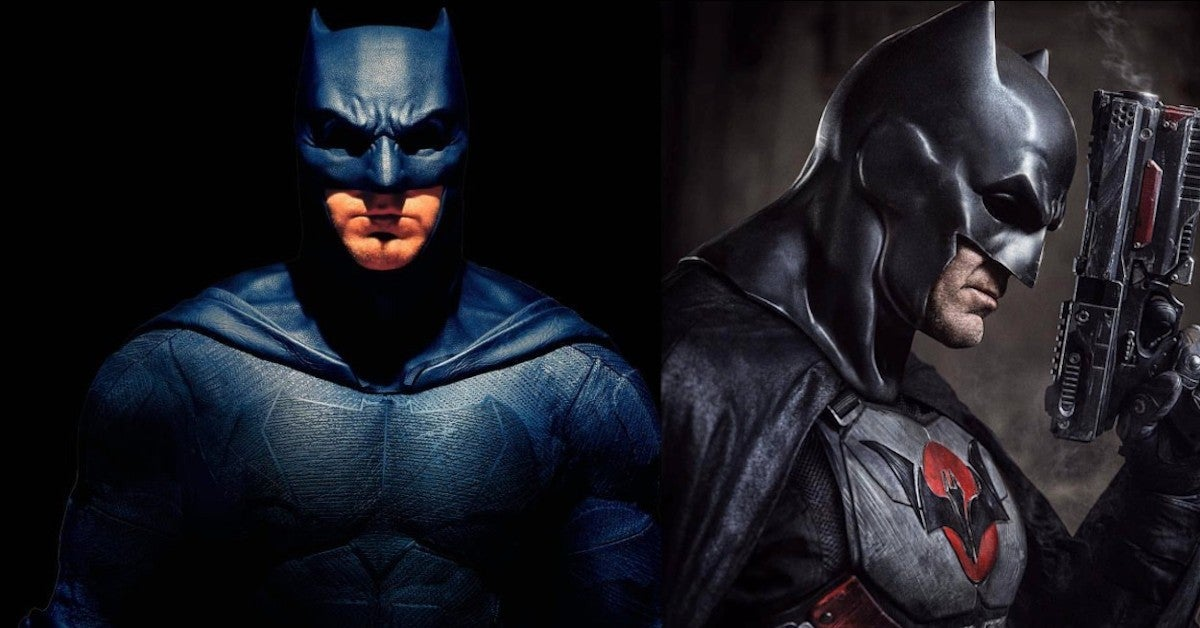 Ben Affleck Batman Meets Thomas Wayne Jeffrey Dean Morgan Fan Artwork