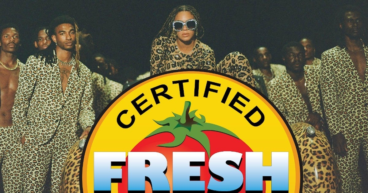 Beyonce Black Is King Reviews Perfect Score Rotten Tomatoes