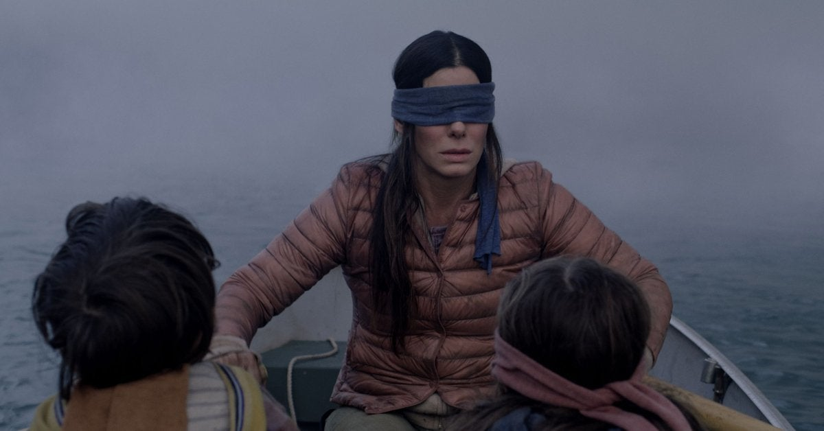 bird box netflix movie sandra bullock