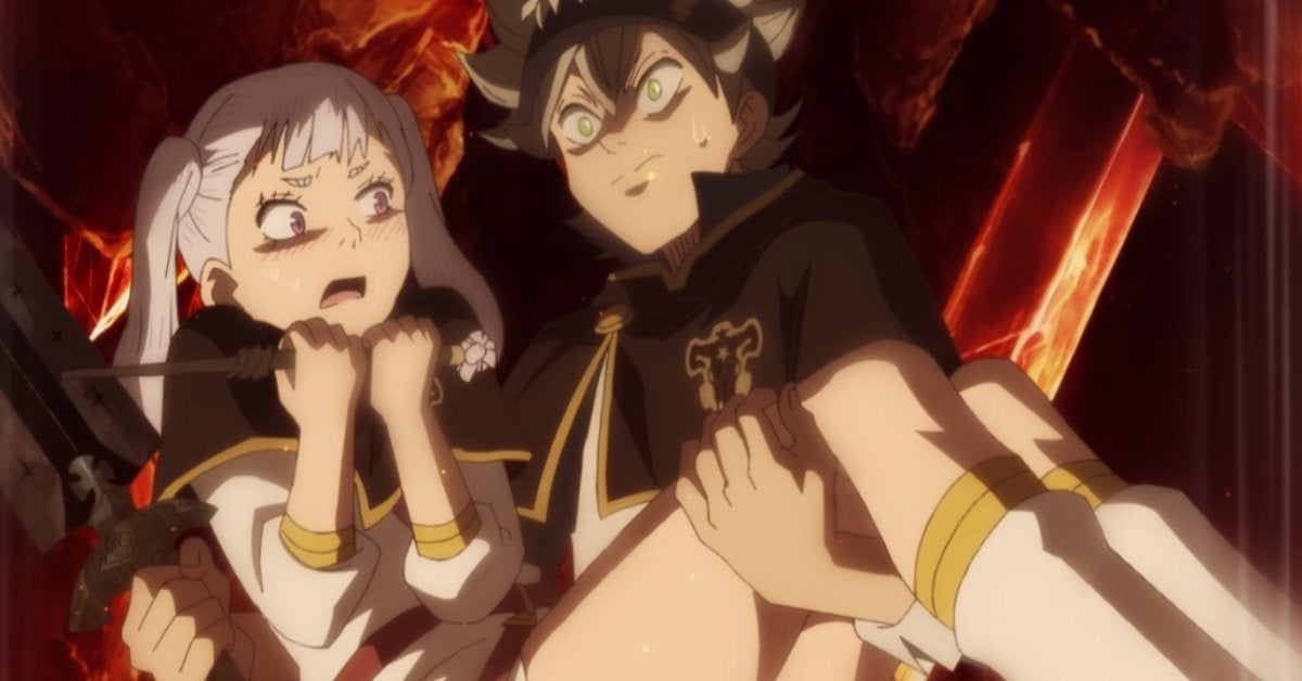 Black Clover Asta Noelle Anime