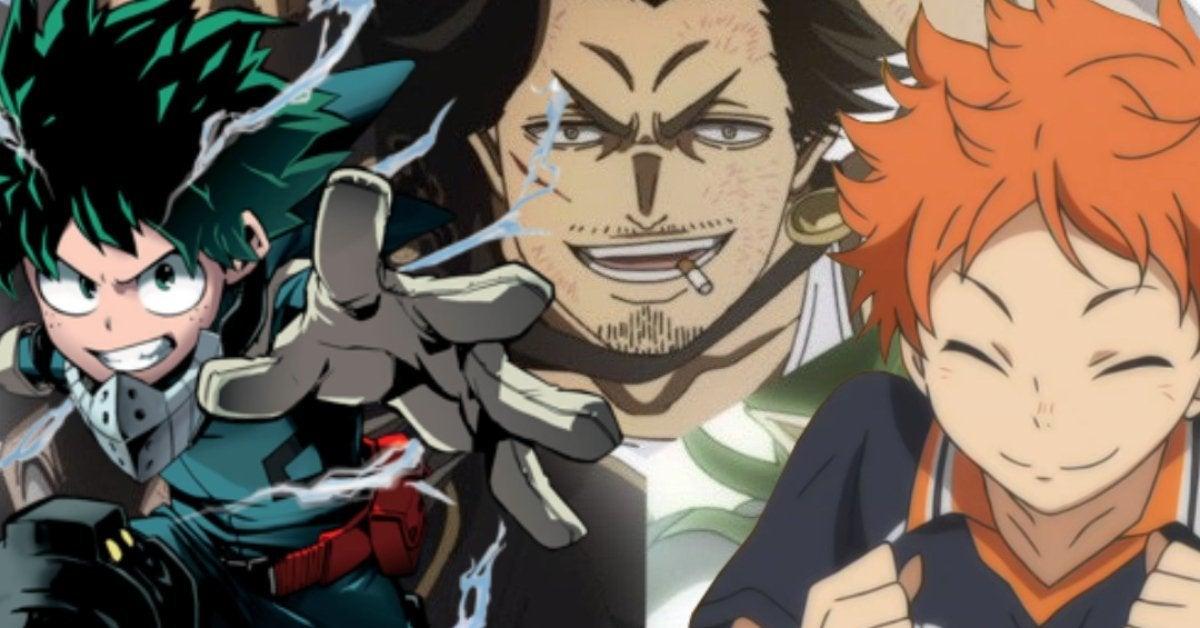 Black Clover My Hero Academia Haikyuu Shonen Jump