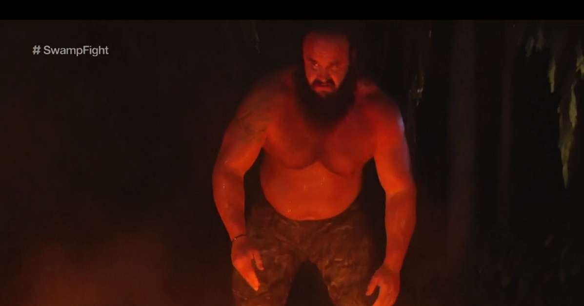 Braun Storwman WWE Extreme Rules Fire