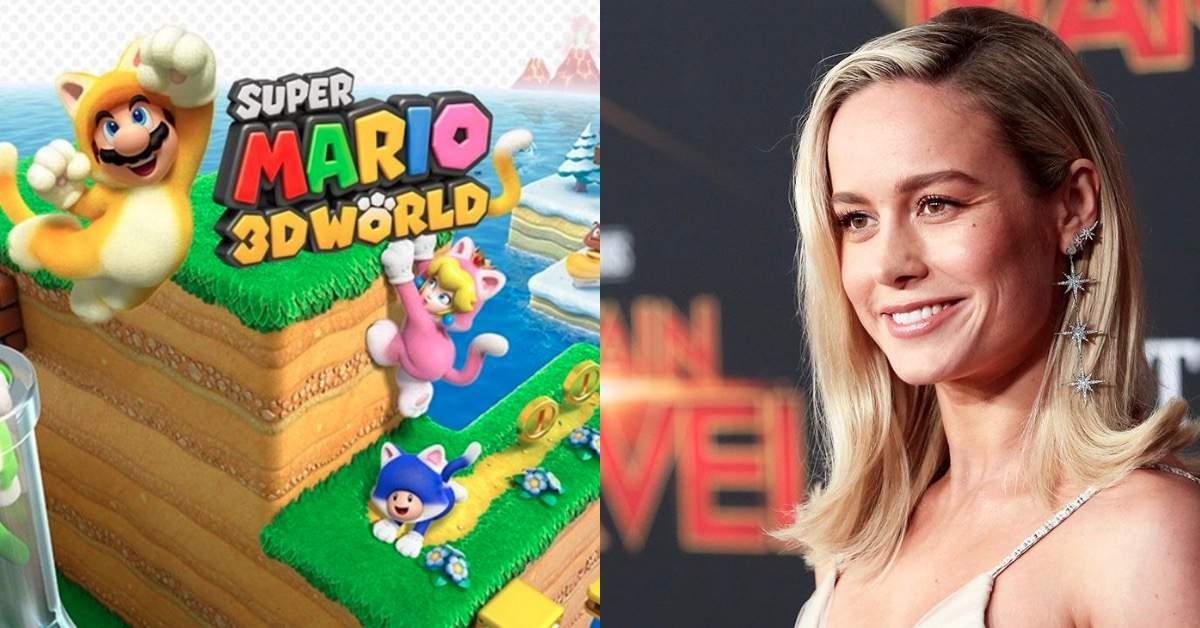 Brie Larson Mario