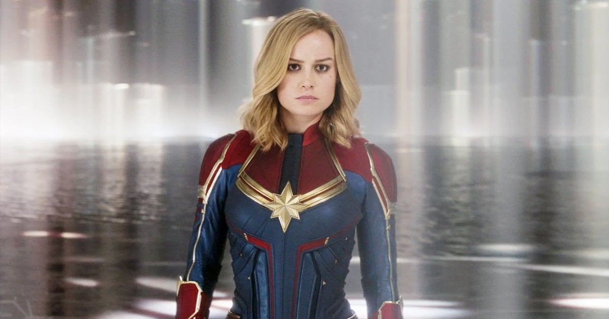 captain marvel brie larson carol danvers 2019