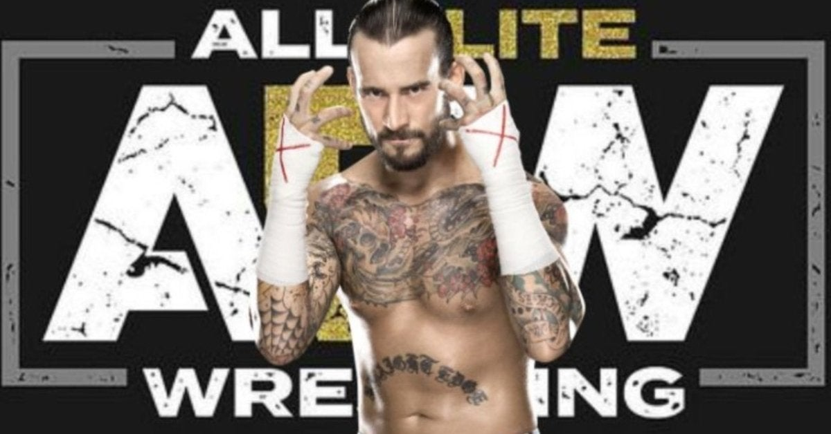 CM Punk All Elite Wrestling AEW