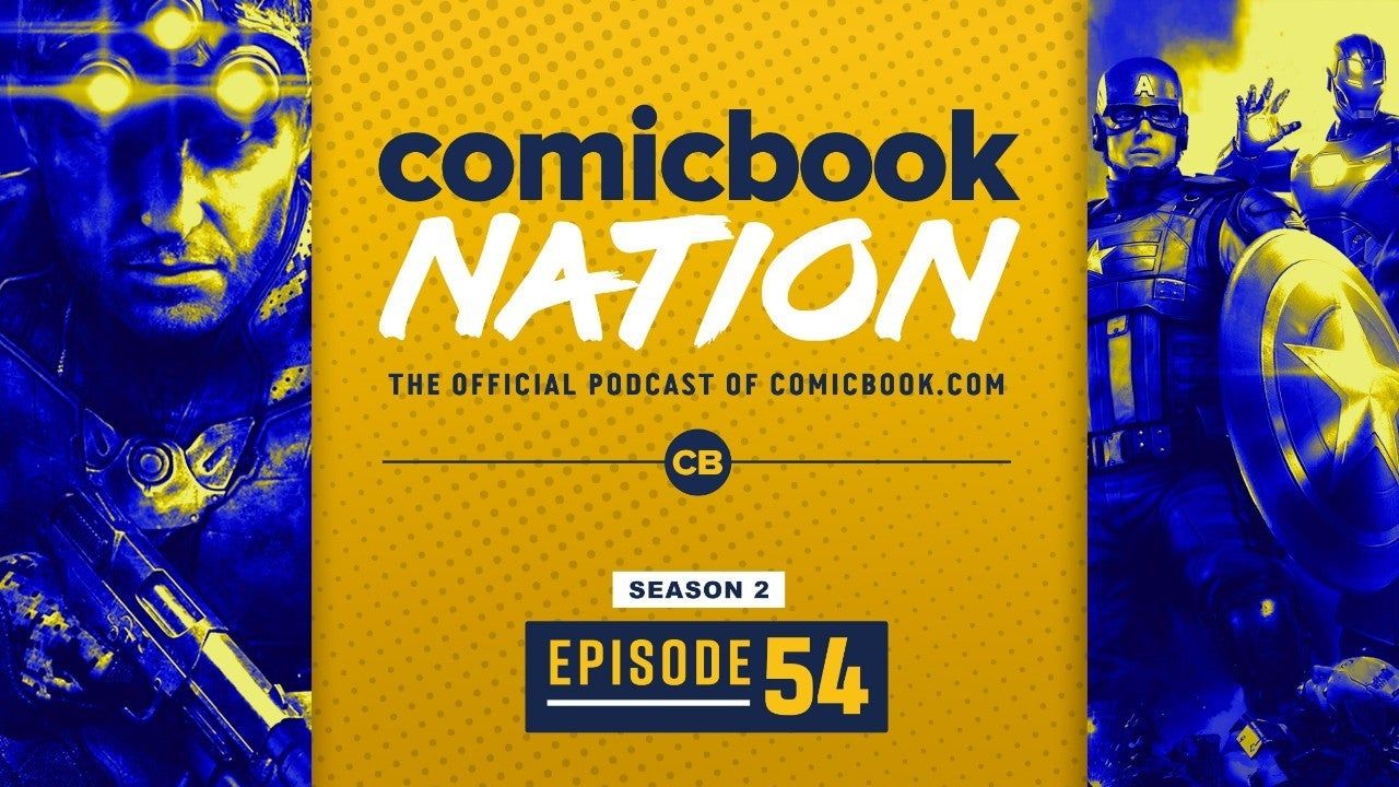 Comic Book Podcast Marvel's Avengers Beta Splinter Cell TV Series Batman Interactive Movie