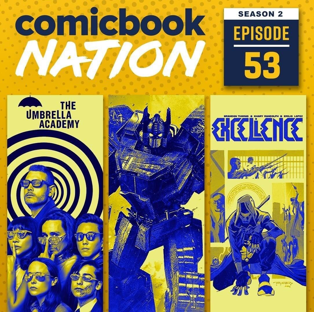 ComicBook Podcast Emmy Nominations Umbrella Academy Season 2 Transformers War Cybertron Reviews Netflix