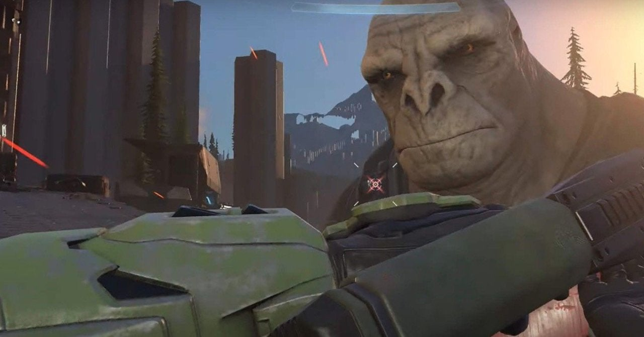 Halo Infinite's Craig the Unamused Brute Is 2020's Newest Viral Meme