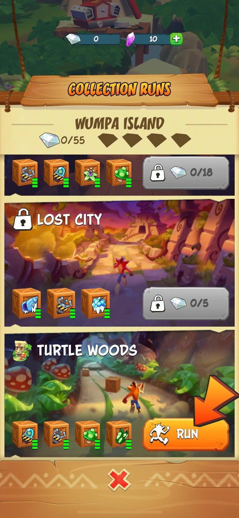 Crash Bandicoot_ On the Run! - Gameplay Screenshot 2