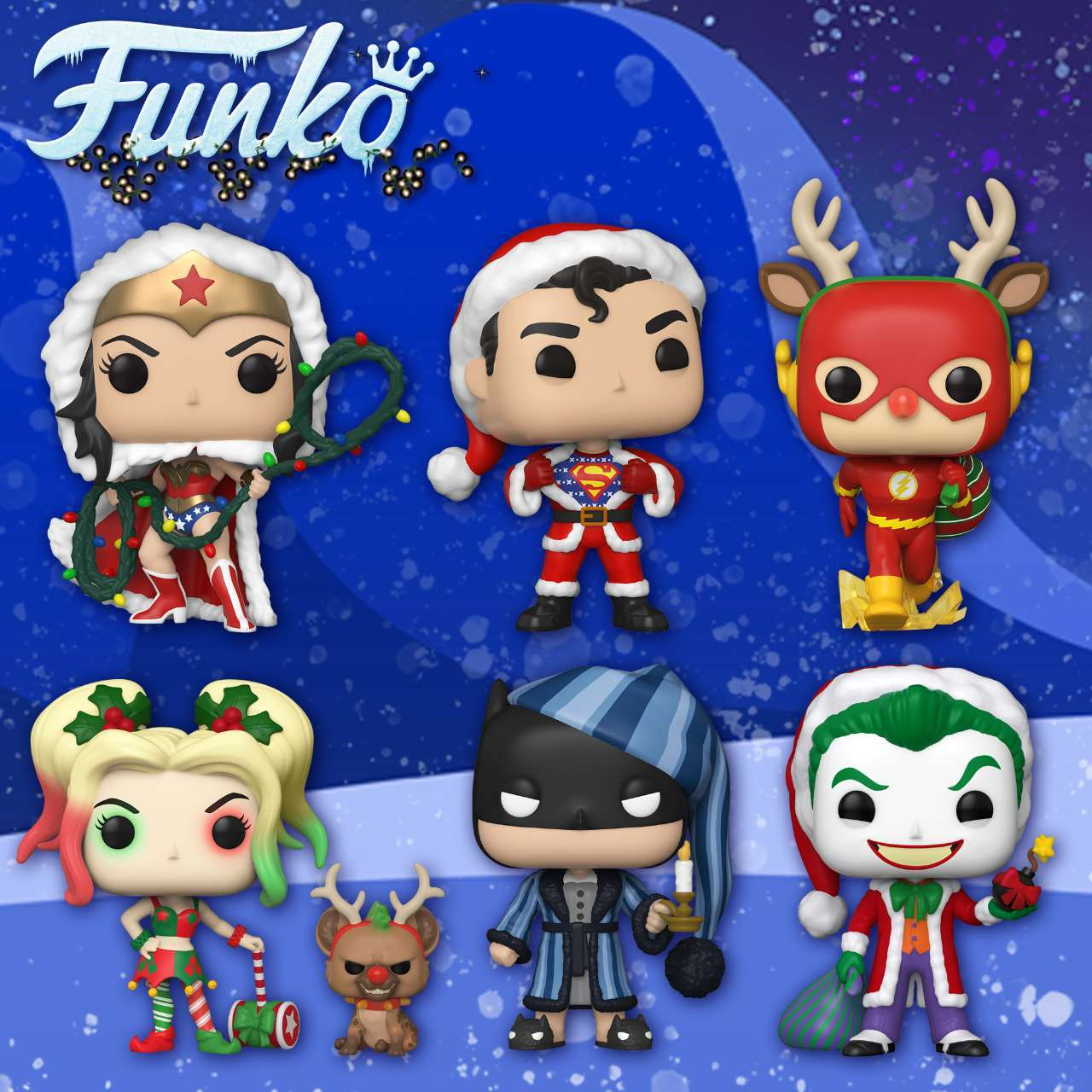 Christmas Funko Pop 2020 Funko Launches a Massive DC Comics Christmas in July Pop Figure Wave